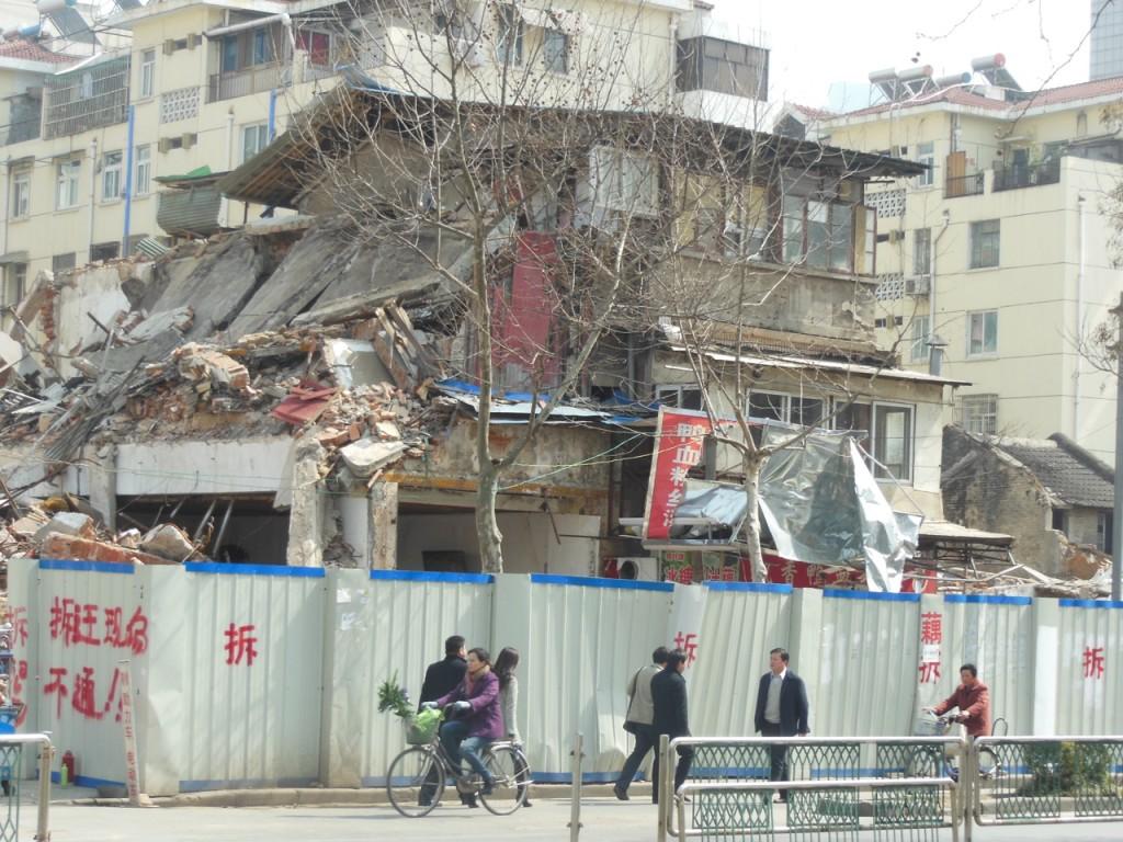 Crushed shops